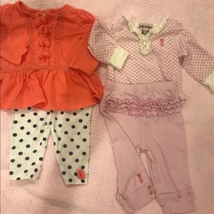 Two adorable baby outfits!